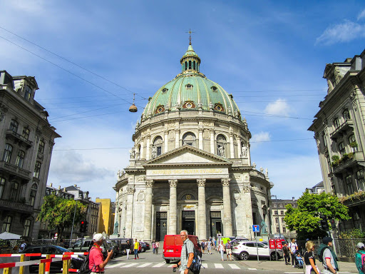 Frederik's Church,  known as the Marble Church for its rococo architecture, is an Evangelical Lutheran church in Copenhagen.