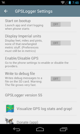 GPS Logger for Android 103 screenshots 6