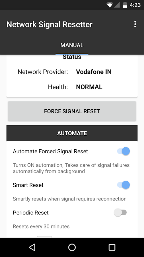 Network Signal Resetter - Android Apps on Google Play