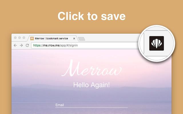 Save to Merrow