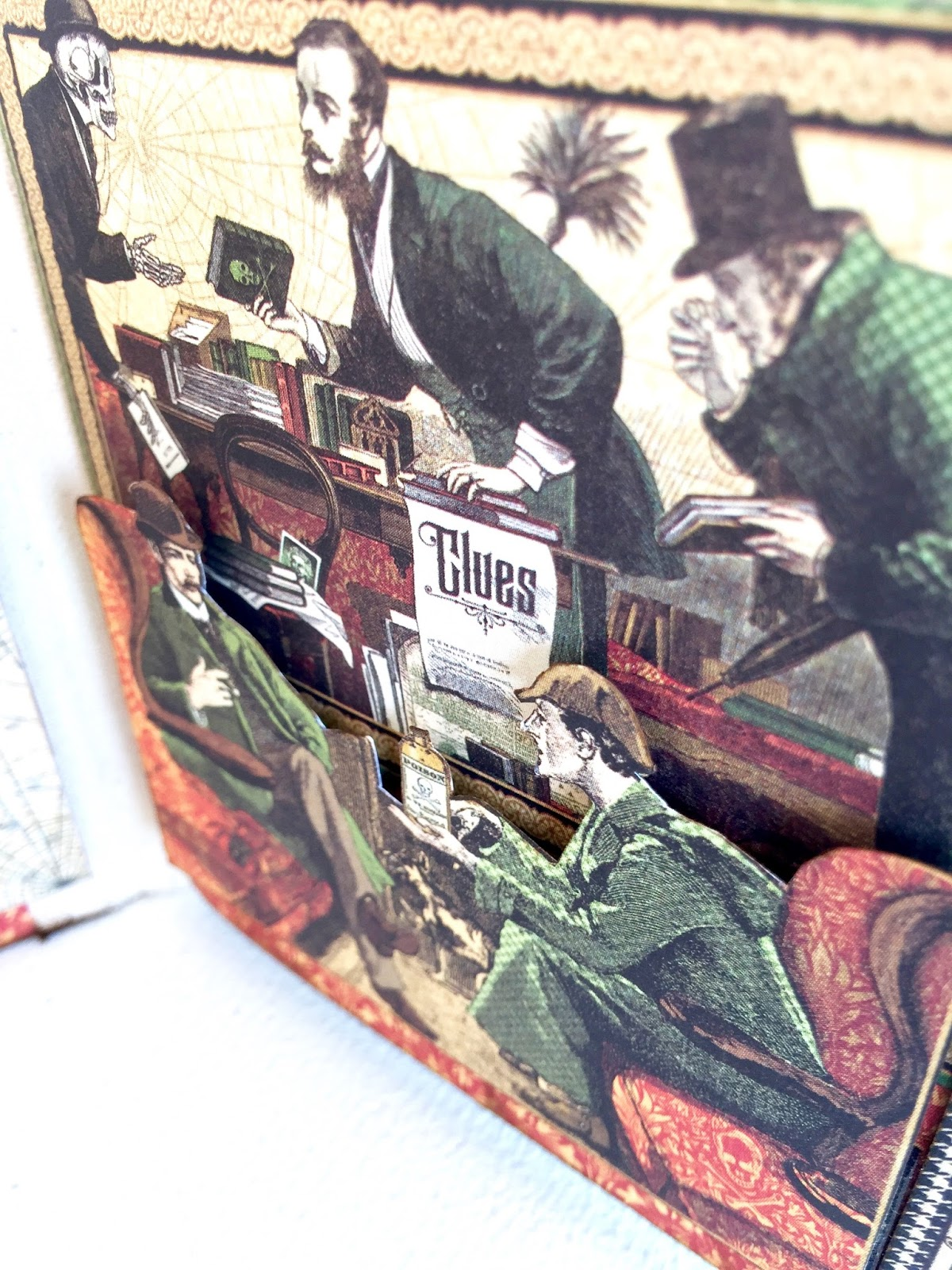 Stand and Mini Album Master Detective by Marina Blaukitchen Product by Graphic 45 photo 12.jpg