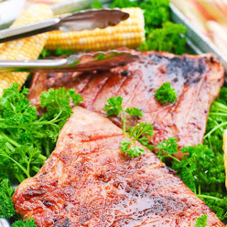 Sweet + Spicy Grilled Pork Ribs Recipe