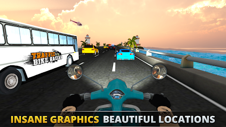 VR Ultimate Traffic Bike Racer 3D APK screenshot thumbnail 1