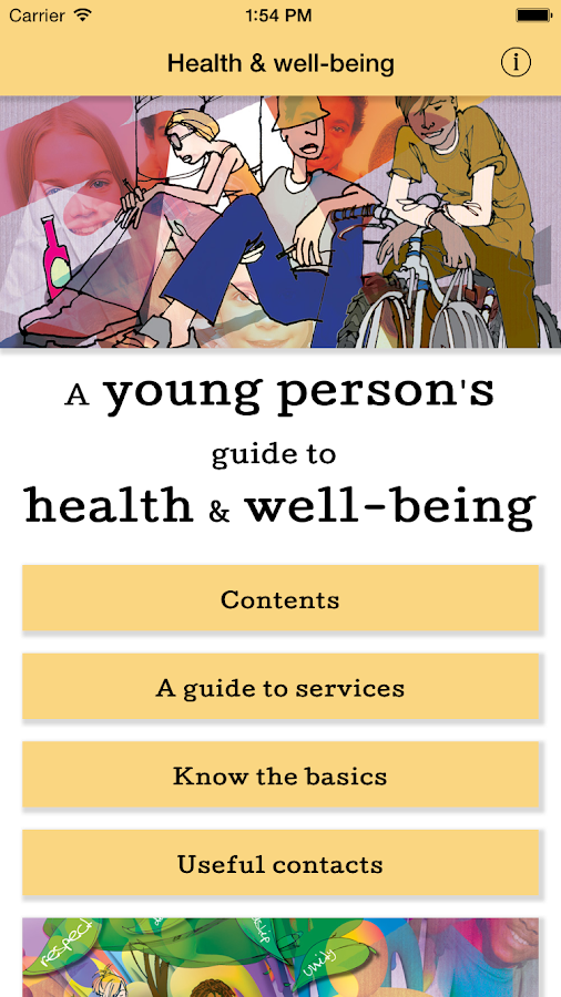 St Helens Health Advice for YP- screenshot