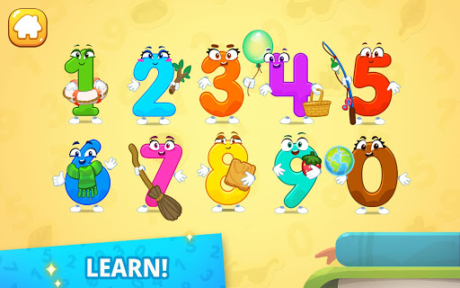 Numbers for kids! Counting 123 games!  screenshots 14