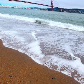 Golden Gate from Kirby Cove by Bharath Booshan - Landscapes Beaches