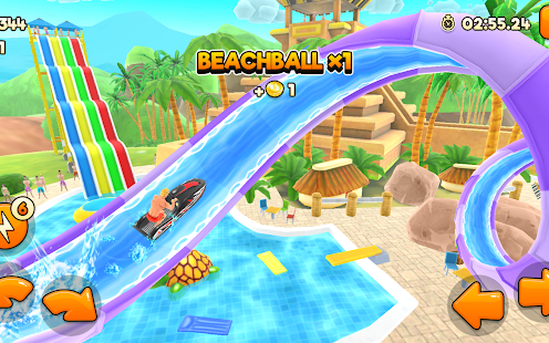 Uphill Rush Water Park Racing Screenshots