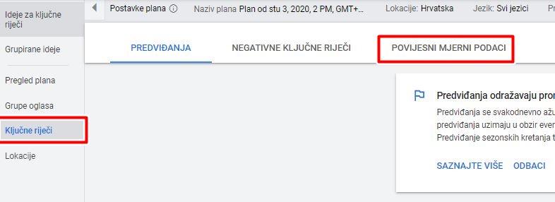 Google Keyword Planner 4