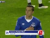Funes Mori harangue les supporters de Liverpool après avoir blessé Origi