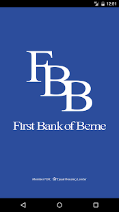 First Bank of Berne- screenshot thumbnail