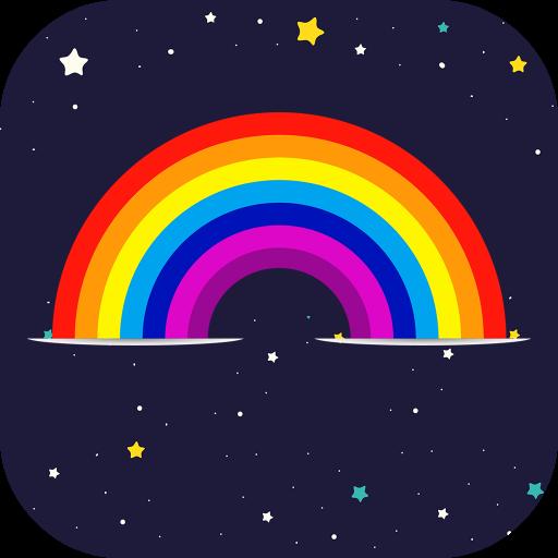Rainbow Overlay Photo Lab Effect App Icon