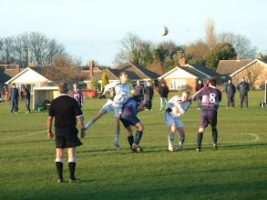 Photo: 29/12/07 v Norwich St.Johns (ACL2) 1-2 - contributed by Martin Wray