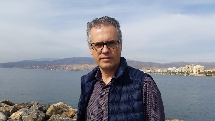 El autor de 'Entre malvados', Miguel Ángel Muñoz.