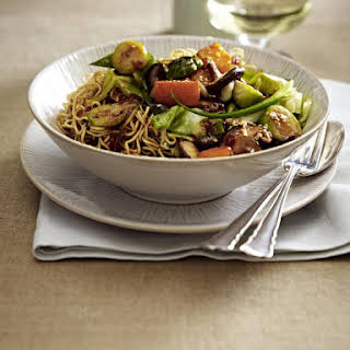 Autumn Vegetable and Noodle Stir-Fry.