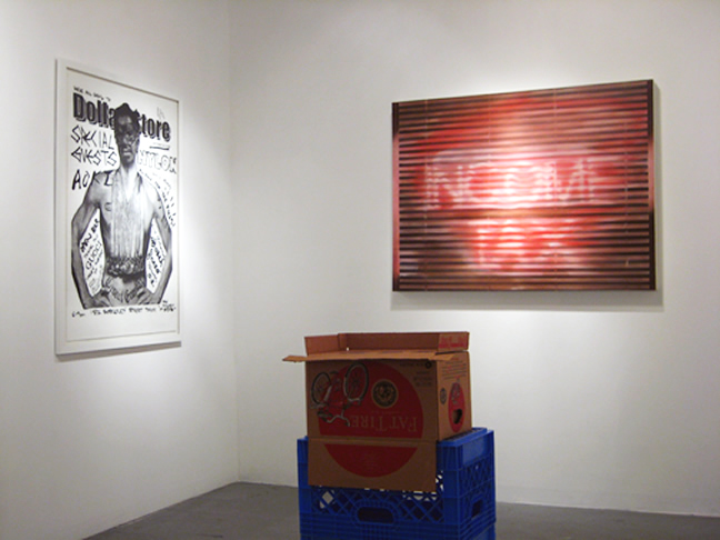 Photo: Dollar $tore (Installation) Seeline Gallery, Los Angeles 2008