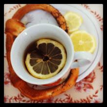 Photo: Good morning! #tea #lemon and a #pretzel - #intercer #romania #breakfast - via Instagram, http://instagr.am/p/MIMc57JfuE/