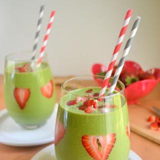 Strawberry Green Smoothie.