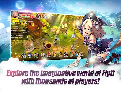 Flyff Legacy - Anime MMORPG 2 7 22 (Mod) APK for Android