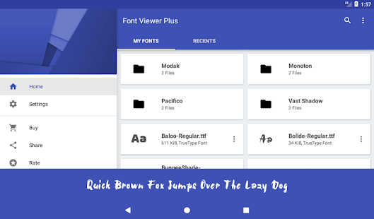 Font Viewer Plus Screenshot