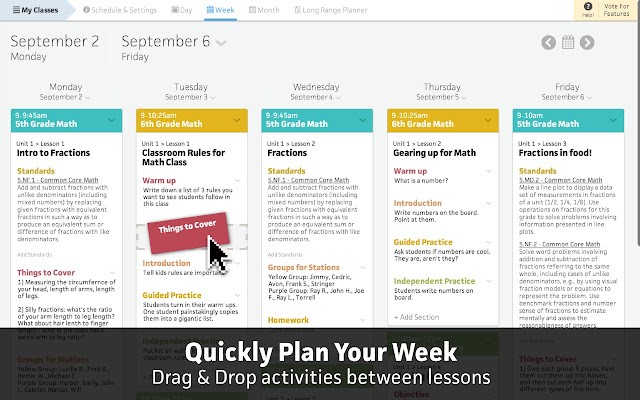 Common Curriculum Lesson Planner - Chrome Web Store