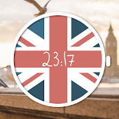 United Kingdom Flag Watch Face