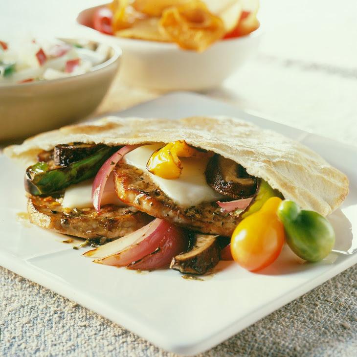 Amelia'S Italian Pork Pita Pockets Recipe