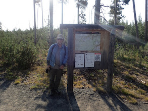 Photo: Hiking into Grebe Lake after 26 years....see the Blog for the story.