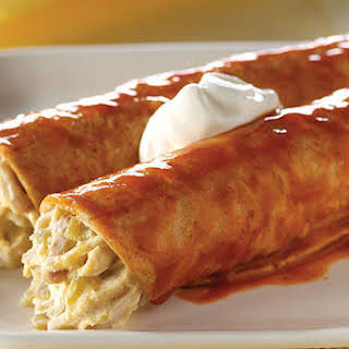 Chicken & Green Chili Enchiladas.