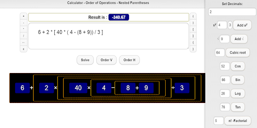 Calculator Parentheses Order Of Operations Download Apk Free For Android Apktume Com