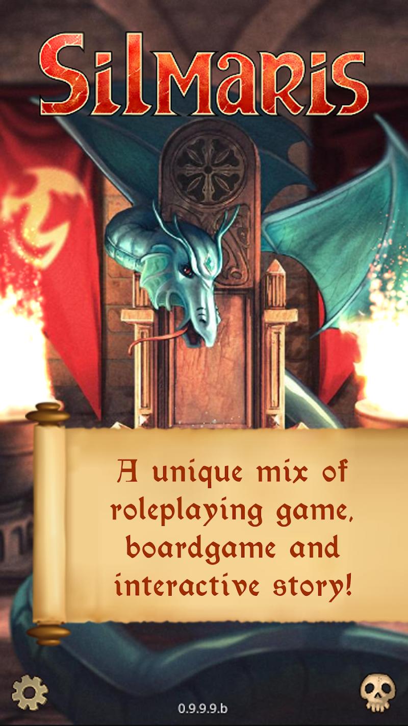 Silmaris - strategic boardgame and text adventures Screenshot 0