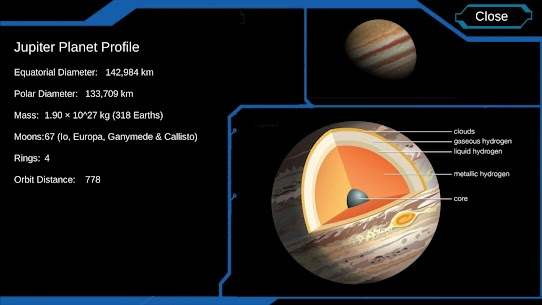 Solar System Encyclopedia : 3D Universe Astronomy v1.2 APK 2