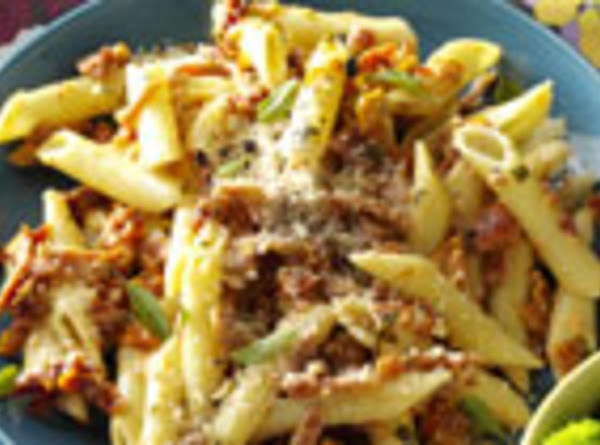 Pepperoni Penne Carbonara Recipe