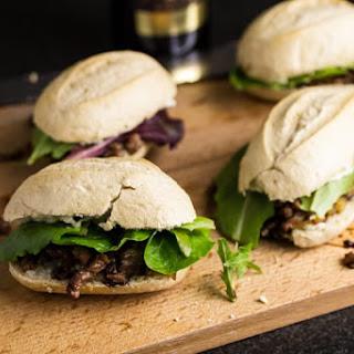 Blue Cheese & Balsamic Steak Sliders
