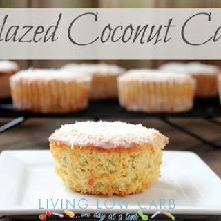 Glazed Coconut Cakes (Low Carb).