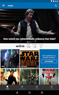 Wikia: Star Wars – Miniaturansicht des Screenshots