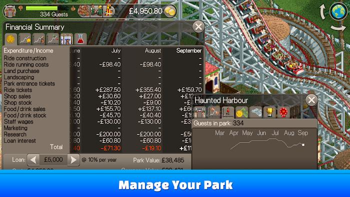 games simulation wwwroller coaster tycooncom