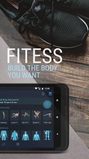 Home Workout - Fitness & Bodybuilding 1.2.6 Screenshots 4
