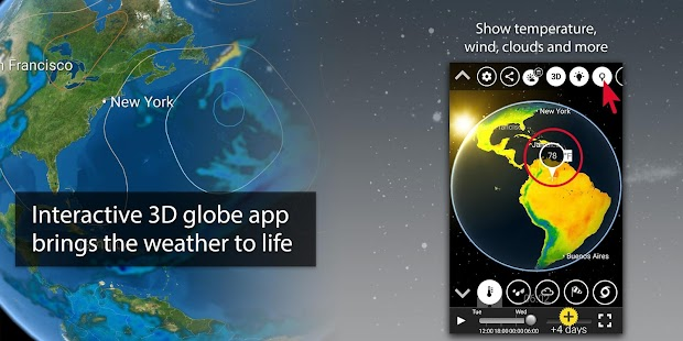 MeteoEarth- screenshot thumbnail