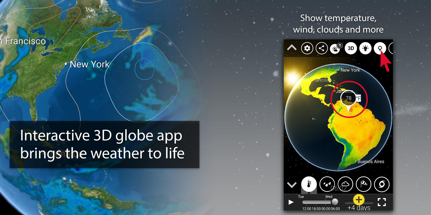 MeteoEarth screenshot #1