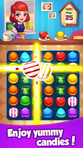 Candy House Fever - 2020 free match game 1.0.5 screenshots 3