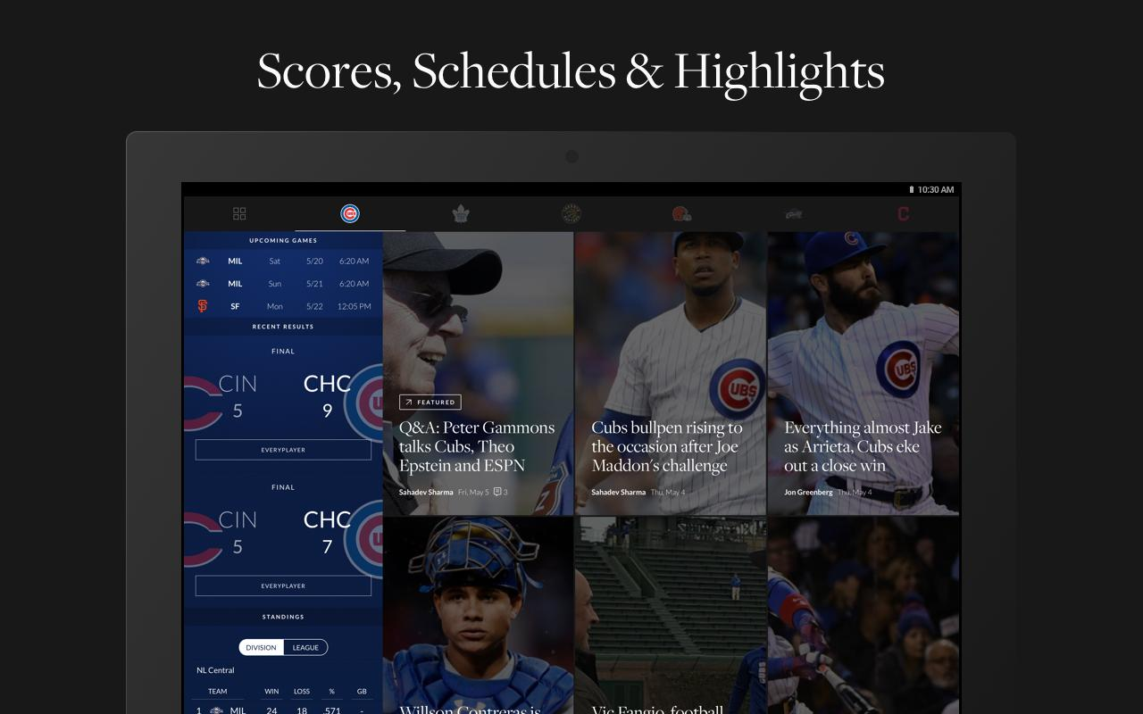 The Athletic- screenshot