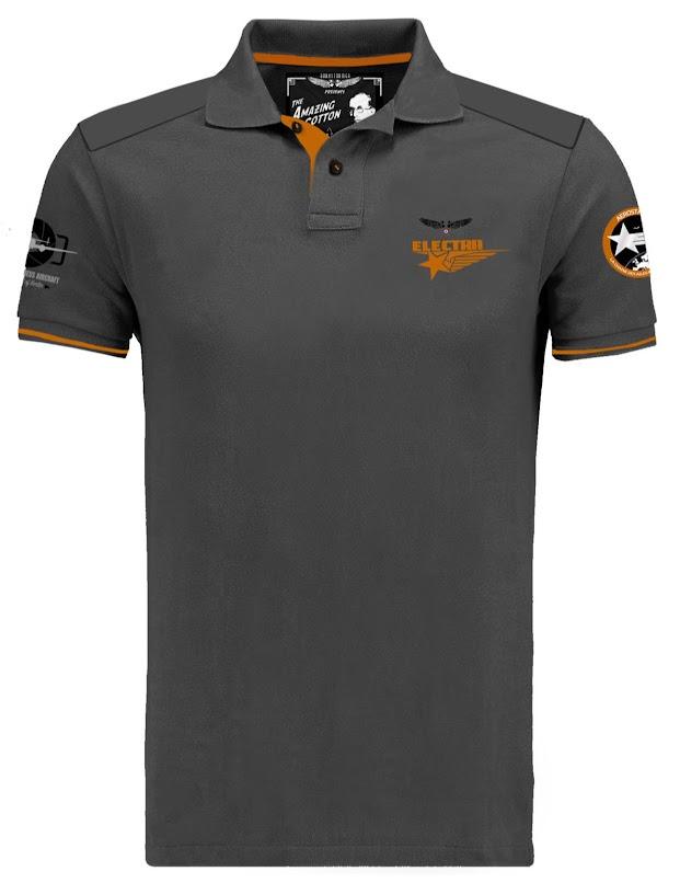 polo-gris-orange-lockheed-electra-sidney-cotton-barnstormer-aerostar