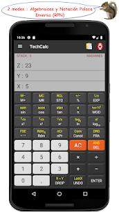 TechCalc Calculadora Científica 2