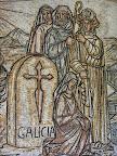 Detalle del mosaico Monasterio de Poio