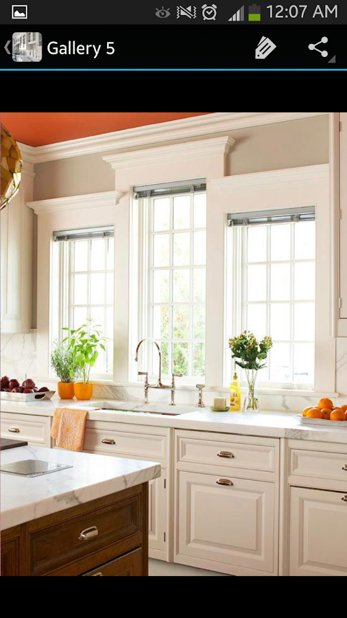 White kitchen cabinets android apps on google play for Kitchen cabinet design app