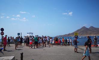 Reivindicación en la Isleta del Moro