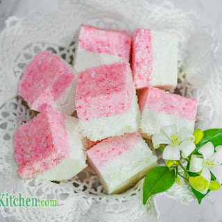 Low Carb Candy Coconut Ice
