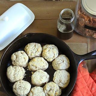 Maple Pecan Biscuits