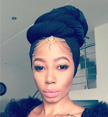 Kelly Khumalo is thinking about going into gospel.