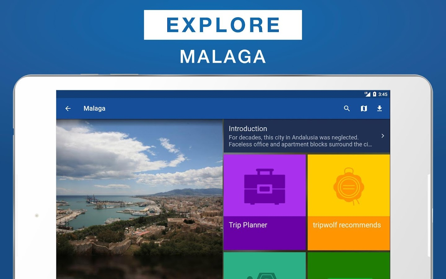 Malaga Travel Guide- screenshot